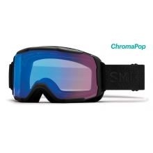 Showcase OTG Black Mosaic ChromaPop Storm Rose Flash by Smith Optics in Kelowna Bc