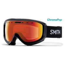 Prophecy OTG Asian Fit Black ChromaPop Everyday Red Mirror by Smith Optics