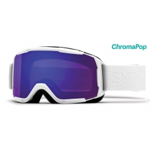 Showcase OTG Asian Fit White Mosaic ChromaPop Everyday Violet Mirror by Smith Optics