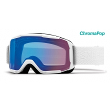Showcase OTG Asian Fit White Mosaic ChromaPop Storm Rose Flash by Smith Optics
