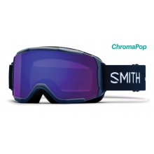 Showcase OTG Asian Fit Navy Micro Floral ChromaPop Everyday Violet Mirror by Smith Optics