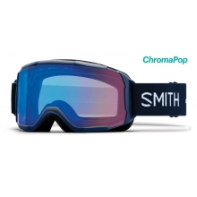 Showcase OTG Asian Fit Navy Micro Floral ChromaPop Storm Rose Flash by Smith Optics