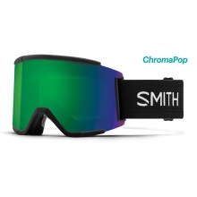 Squad XL Black ChromaPop Sun Green Mirror