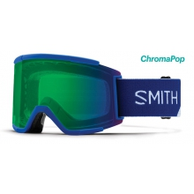 Squad XL Klein Blue Split ChromaPop Everyday Green Mirror by Smith Optics