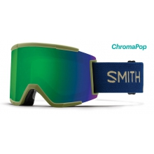 Squad XL Navy Camo Split ChromaPop Sun Green Mirror
