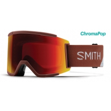 Squad XL Adobe Split ChromaPop Sun Red Mirror by Smith Optics