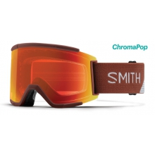 Squad XL Adobe Split ChromaPop Everyday Red Mirror by Smith Optics