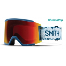 Squad XL Asian Fit Kindred ChromaPop Sun Red Mirror by Smith Optics