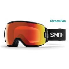 Vice Black ChromaPop Everyday Red Mirror by Smith Optics