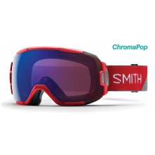 Vice Fire Split ChromaPop Photochromic Rose Flash by Smith Optics