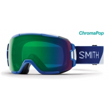 Vice Klein Blue Split ChromaPop Everyday Green Mirror by Smith Optics
