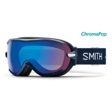 Virtue Navy Micro Floral ChromaPop Storm Rose Flash by Smith Optics