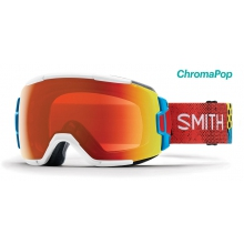 Vice Asian Fit Burnside ChromaPop Everyday Red Mirror by Smith Optics