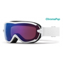 Virtue White Mosaic ChromaPop Photochromic Rose Flash by Smith Optics