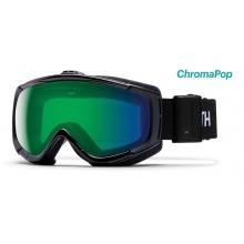 Phenom Turbo Black ChromaPop Everyday Green Mirror by Smith Optics