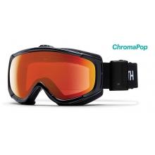 Phenom Turbo Black ChromaPop Everyday Red Mirror by Smith Optics