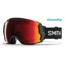 I/O 7 Black ChromaPop Sun Red Mirror by Smith Optics