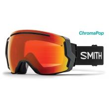 I/O 7 Black ChromaPop Everyday Red Mirror by Smith Optics