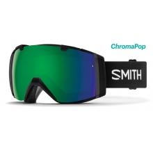 I/O Black ChromaPop Sun Green Mirror by Smith Optics in Golden Co