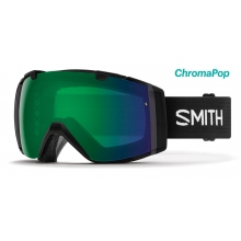 I/O Black ChromaPop Everyday Green Mirror by Smith Optics