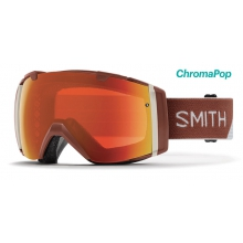 I/O Adobe Split ChromaPop Everyday Red Mirror by Smith Optics