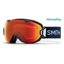 I/OS Navy Micro Floral ChromaPop Everyday Red Mirror by Smith Optics