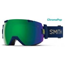 I/OX Navy Camo Split ChromaPop Sun Green Mirror by Smith Optics