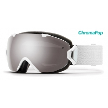 I/OS White Mosaic ChromaPop Sun Platinum Mirror by Smith Optics in Mobile Al