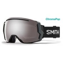 I/O 7 Asian Fit Black ChromaPop Sun Platinum Mirror by Smith Optics