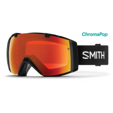 I/O Asian Fit Black ChromaPop Everyday Red Mirror by Smith Optics in Chino Ca