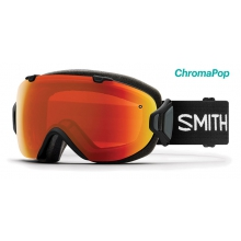 I/OS Asian Fit Black ChromaPop Everyday Red Mirror by Smith Optics