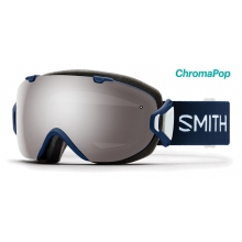 I/OS Asian Fit Navy Micro Floral ChromaPop Sun Platinum Mirror by Smith Optics