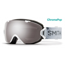 I/OS Asian Fit White Venus ChromaPop Sun Platinum Mirror by Smith Optics
