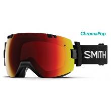 I/OX Asian Fit Black ChromaPop Sun Red Mirror by Smith Optics