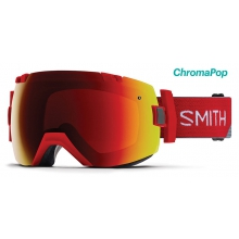 I/OX Asian Fit Fire Split ChromaPop Sun Red Mirror