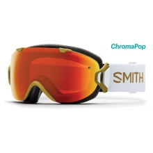 I/OS Asian Fit Elena AC ChromaPop Everyday Red Mirror by Smith Optics
