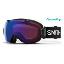 I/OS Asian Fit Black ChromaPop Photochromic Rose Flash by Smith Optics