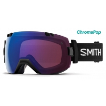 I/OX Asian Fit Black ChromaPop Photochromic Rose Flash by Smith Optics