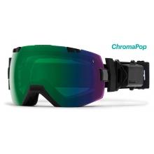 I/OX Turbo Fan Black ChromaPop Everyday Green Mirror by Smith Optics