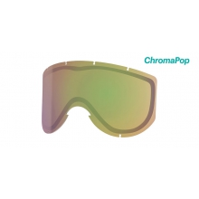 Knowledge Turbo Fan Replacement Lenses Knowledge Turbo ChromaPop Storm Yellow Flash by Smith Optics