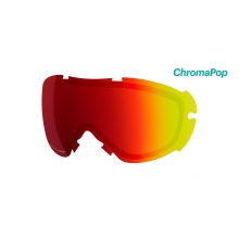 Virtue Replacement Lenses Virtue ChromaPop Sun Red Mirror by Smith Optics