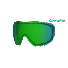 Prophecy Turbo Fan Replacement Lenses Prophecy Turbo ChromaPop Everyday Green Mirror by Smith Optics