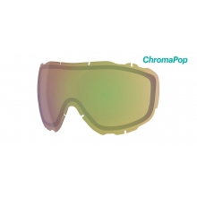 Prophecy Turbo Fan Replacement Lenses Prophecy Turbo ChromaPop Storm Yellow Flash by Smith Optics