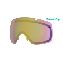 I/O Replacement Lenses I/O ChromaPop Storm Yellow Flash by Smith Optics in Salmon Arm Bc