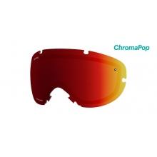 I/OS Replacement Lenses I/OS ChromaPop Sun Red Mirror by Smith Optics