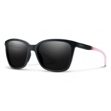 Colette Matte Black Dusty Pink Blackout by Smith Optics