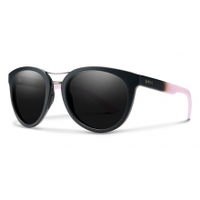 Bridgetown Matte Black Dusty Pink Blackout by Smith Optics