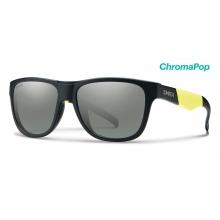 Lowdown Slim Matte Black Acid ChromaPop Platinum by Smith Optics