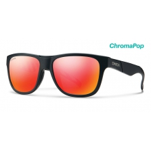 Lowdown Slim Squall ChromaPop Sun Red Mirror by Smith Optics in Juneau Ak