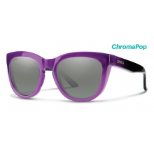Sidney Violet Spray ChromaPop Platinum by Smith Optics in Denver Co